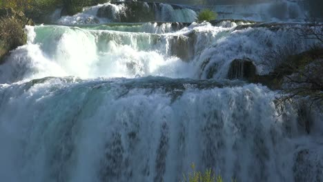Beautiful-raging-waterfalls-flow-through-the-mountains-of-Croatia-3