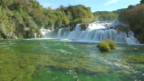 Beautiful-raging-waterfalls-flow-through-the-mountains-of-Croatia-4