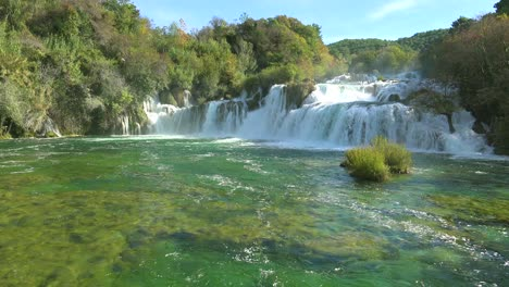 Beautiful-raging-waterfalls-flow-through-the-mountains-of-Croatia-4