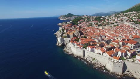 Aerial-view-over-the-old-city-of-Dubrovnik-Croatia-2