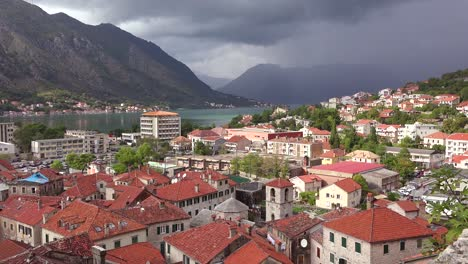 The-town-of-Kotor-on-the-shores-of-Boka-Bay-Montenegro-1