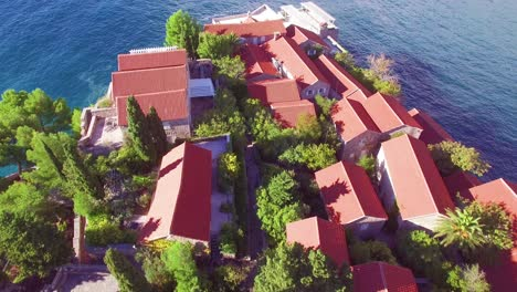 Remarkable-aerial-shot-over-the-beautiful-Sveti-Stefan-island-in-Montenegro-6