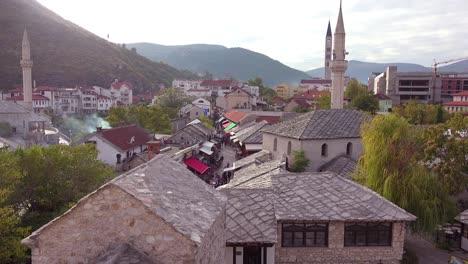 Plano-De-Establecimiento-De-La-Ciudad-Vieja-De-Mostar-Bosnia-Herzegovina