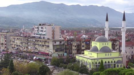 Good-establishing-shot-of-the-skyline-of-Shkoder-Albania-1