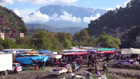 A-large-outdoor-market-in-the-Alps-of-Albania