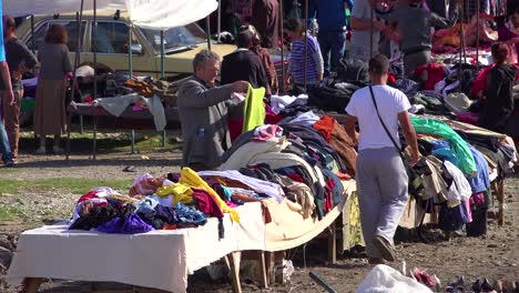 A-large-outdoor-flea-market-in-the-Alps-of-Albania-1