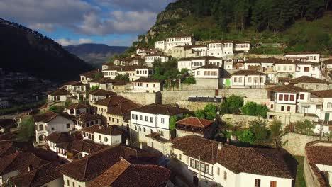 Good-vista-aérea-shot-of-ancient-houses-on-the-hillside-in-Berat-Albania-12