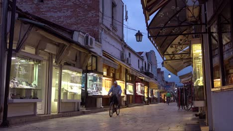 Jewelry-shops-and-other-stores-line-a-street-in-the-old-city-of-Skopje-Macedonia