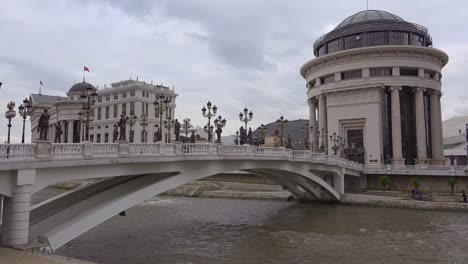 Government-buildings-in-downtown-Skopje-Macedonia-2
