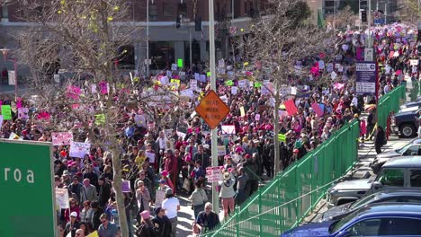 Hundreds-of-thousands-march-to-protest-the-presidency-of-Donald-Trump-in-Los-Angeles-California-1