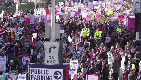 Hundreds-of-thousands-march-to-protest-the-presidency-of-Donald-Trump-in-downtown-Los-Angeles-California-5