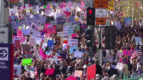 Hundreds-of-thousands-march-to-protest-the-presidency-of-Donald-Trump-in-downtown-Los-Angeles-California-11