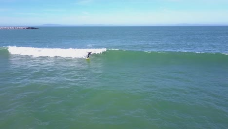 Good-aerial-of-a-surfer-mastering-the-waves
