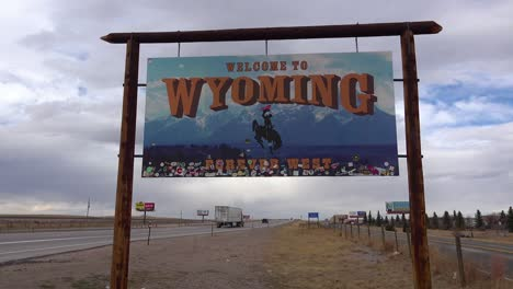 A-sign-welcomes-travelers-to-the-state-of-Wyoming-1