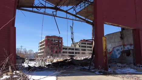 Old-rundown-and-destroyed-factory-near-Detroit-Michigan