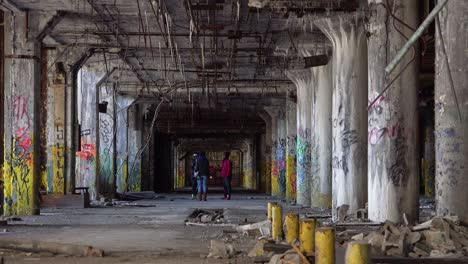 Black-kids-rap-dance-and-congregate-in-the-abandoned-buildings-of-Detroit-Michigan