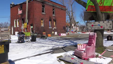 Abandoned-items-like-are-assembled-into-art-objects-in-this-Detroit-neighborhood
