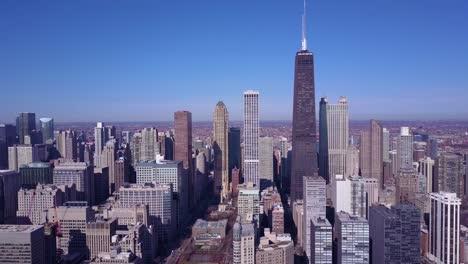 Antena-De-Alto-ángulo-Del-Centro-De-Chicago-Illinois-1