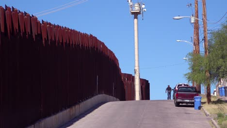 A-view-along-the-US-Mexico-border-at-Nogales-Arizona-2