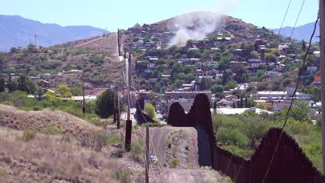 A-view-along-the-US-Mexico-border-wall-at-Nogales-Arizona-3
