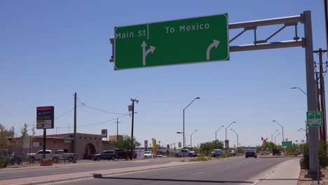 The-intersection-of-Main-Street-and-Mexico-sign-suggests-the-impact-of-businesses-moving-to-Mexico-1