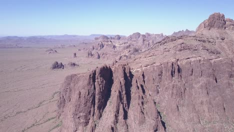 An-aerial-over-the-barren-and-high-peaks-of-the-Sonoran-Desert-in-Arizona-1