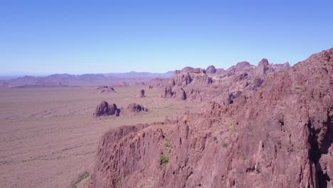 An-aerial-over-the-barren-and-high-peaks-of-the-Sonoran-Desert-in-Arizona-2