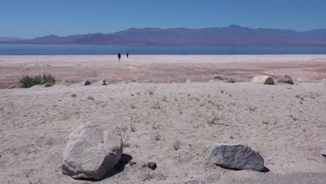 People-walk-in-the-distance-along-the-shore-of-the-Salton-Sea-in-the-California-desert