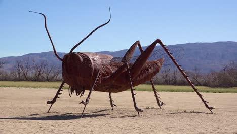A-giant-scorpion-sculpture-in-the-desert-near-Borrego-Springs-California-1