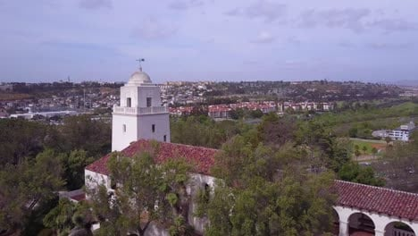 Aerial-over-the-San-Diego-Spanish-Mission-2