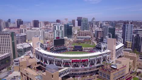 An-aerial-shot-over-downtown-San-Diego-with-Petco-Park-stadium-in-the-foreground-3