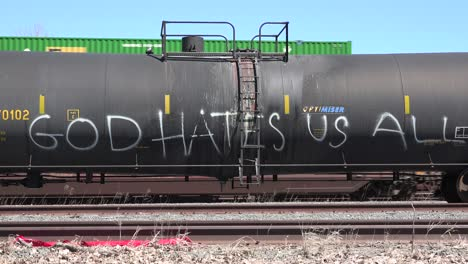 Atheist-graffiti-on-an-oil-tank-train-car-says-God-Hates-Us-All