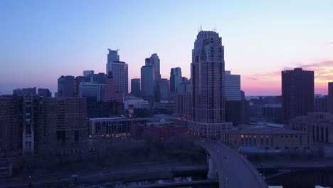 An-aerial-of-downtown-Minneapolis-Minnesota-at-night-1