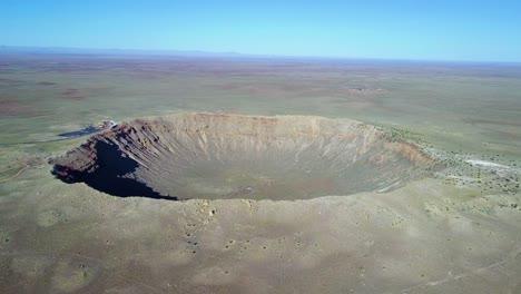 Amazing-aerial-over-Meteor-Crater-Arizona-2
