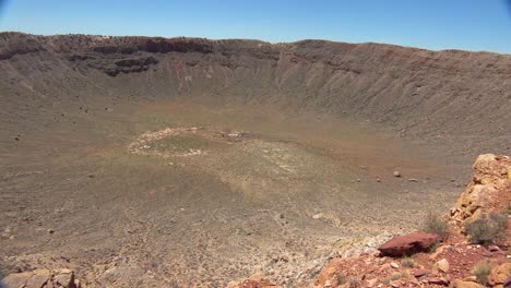 An-pan-across-Meteor-Crater-Arizona