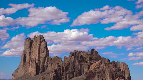 A-beautiful-time-lapse-behind-a-rock-formation-near-Monument-Valley-1
