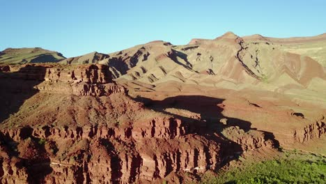 Aerial-along-the-mountains-and-San-Juan-River-in-Utah