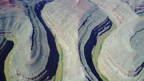 High-aerial-over-the-San-Juan-River-at-Goosenecks-Utah-3