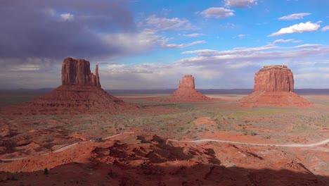 Establishing-shot-of-Monument-Valley-Navajo-Tribal-Park-Utah-1
