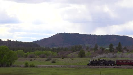 The-Cumbres-and-Toltec-steam-train-moves-through-Colorado-Mounatins-near-Chama-New-Mexico-1