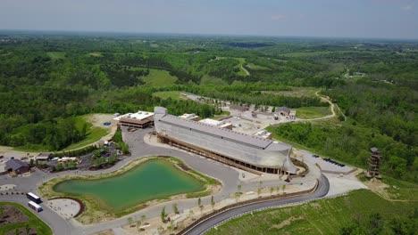 An-aerial-over-a-replica-of-Noah-s-Ark-at-the-Ark-Encounter-theme-park-in-Kentucky-1