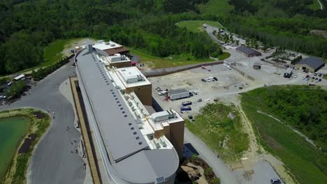 An-aerial-over-a-replica-of-Noah-s-Ark-at-the-Ark-Encounter-theme-park-in-Kentucky-3