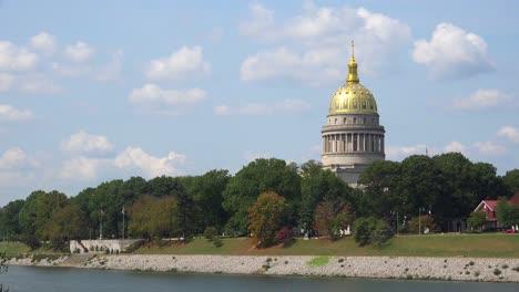Establishing-shot-of-the-capital-building-in-Charleston-West-Virginia-2