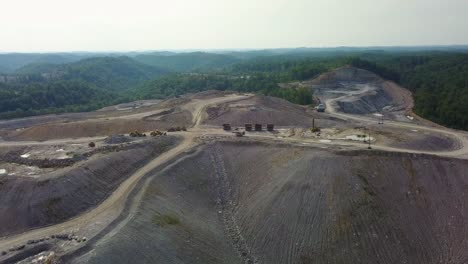 An-aerial-over-a-mountaintop-removal-coal-strip-mine-in-West-Virginia-1