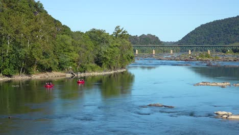 River-rafting-at-the-confluence-of-the-Potomac-and-Shenandoah-Rivers-at-Harpers-Ferry-West-Virginia-1