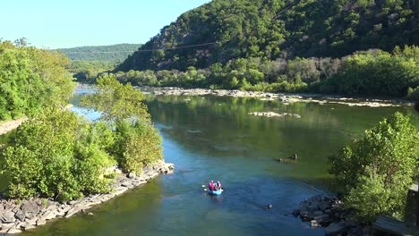 River-rafting-at-the-confluence-of-the-Potomac-and-Shenandoah-Rivers-at-Harpers-Ferry-West-Virginia-2