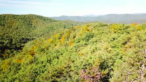Aerial-over-the-forests-of-Appalachia-in-the-Blue-Ridge-Mountains-of-West-Virginia-1