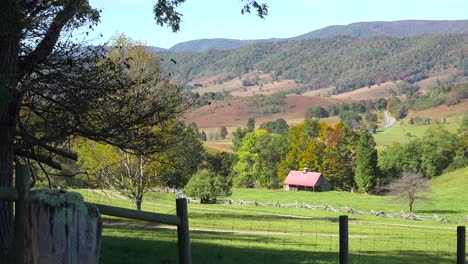 Farms-and-cabins-line-a-valley-in-the-Blue-Ridge-Mountains-of-West-Virginia-1