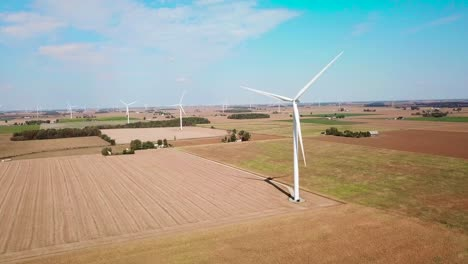 Aerial-over-a-wind-turbine-producing-alternative-electricity-in-rural-Michigan-1