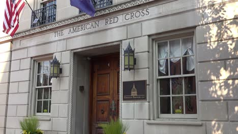 Establishing-shot-of-the-American-Red-Cross-Headquarters-in-West-Chester-Pennsylvania
